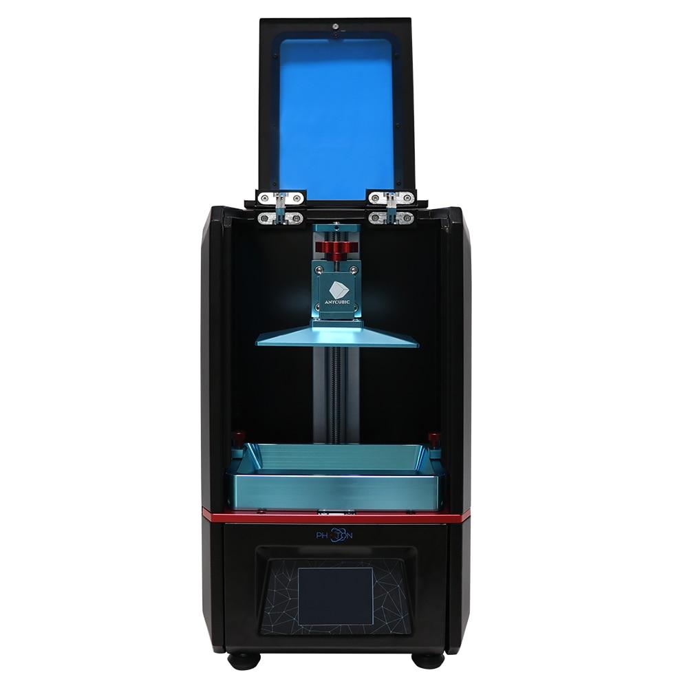 ANYCUBIC Фотон 3D-принтеры UV-LED светло-отверждения смолы 3d украшения принтер SLA/ЖК-дисплей Slicer Скорость Desktop 2,8 ''Сенсорный экран уф смолы