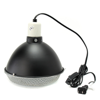 Aquarium Vivarium Reptile Tortoise Turtle Snake Pet Lampshades E27 UV Light Ceramic Heater Lamp Holder With Switch Net