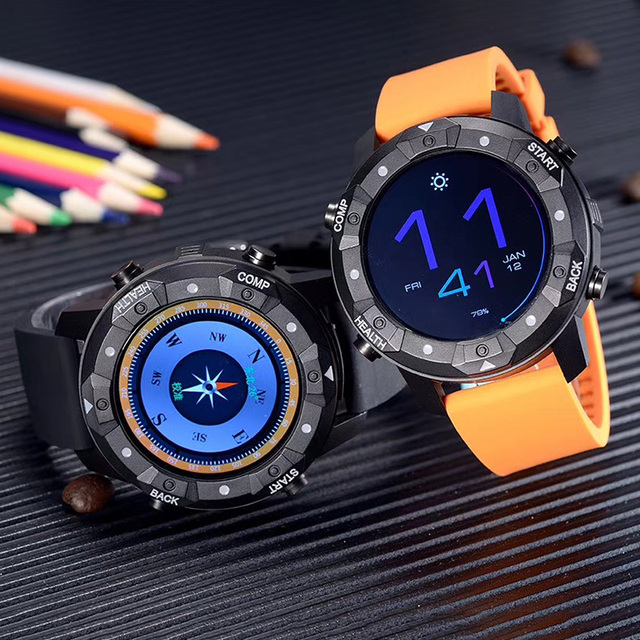 1G/16GB IP67 Waterproof SIM card Wifi 3G GPS smart watch Android 5.1 OS watch phone heart rate monitor smartwatch men