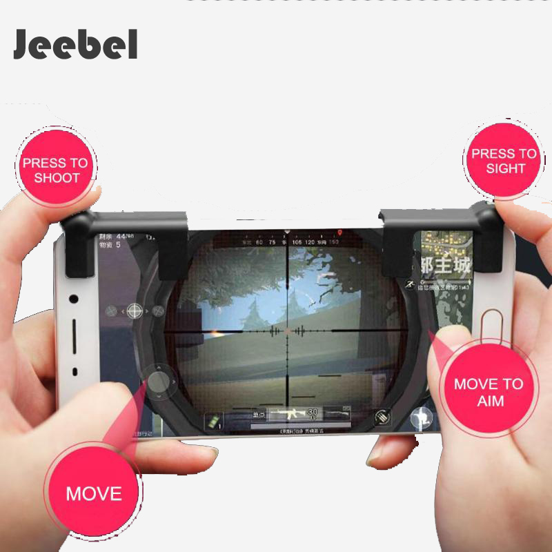Jeebel A Pair Trigger Button For PUBG Mobile Shooter Free