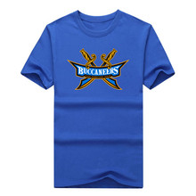 2016 East Tennessee State Buccaneers  logo tshirt Men's T-shirt Guitar Cool T Shirt Casual Tees 100% cotton  XJ002