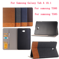 Slim Cover For Samsung Galaxy Tab A 10 1 Case Stander PU Leather Flip Cover For