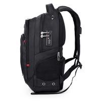 17 Inch swiss usb tsa anti theft Laptop Backpack gear men travel laptop backpack waterproof male Bag waterproof Mochila sac