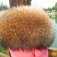 The Whole Network Luxury For Super Oversized Cap Of Cap Raccoon Fur Cap Of Fox Fur