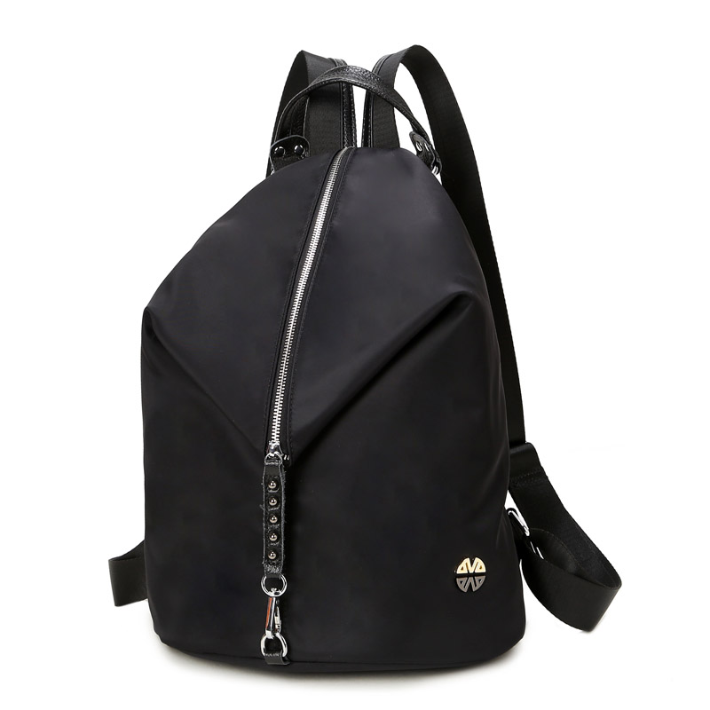 Oxford Boone Dragon + leather shoulder bag Korean version of the new leisure travel bucket backpack influx of women BB106 oxford bag korean version of the female students shoulder bag large capacity backpack canvas backpacks