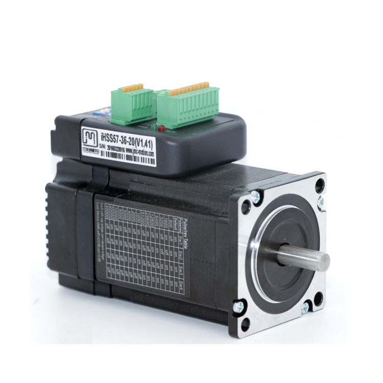 NEMA 23 2N.m 283oz in Integrated Closed Loop Stepper motor 36VDC JMC iHSS57-36-20 nema23 2nm 283oz in integrated closed loop stepper motor with driver 36vdc jmc ihss57 36 20