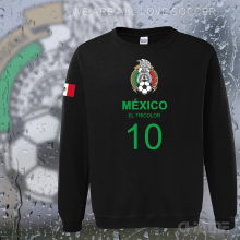 Mexico team 2017 hoodies men sweatshirt sweat suit streetwear socceres jersey footballer tracksuit nation Mexican fleece MX MEX