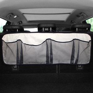 Image 5 - 車のトランク収納袋/シートバッグ、収納ネット高容量/車の靴、バスケットボール機器バッグネットトランク