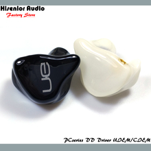 Hisenior Solid Color IE800 IE80 Super Bass Dynamic Driver In-Ear Monitor Noise Cancelling UIEMs/CIEMs Hifi Custom Earphone