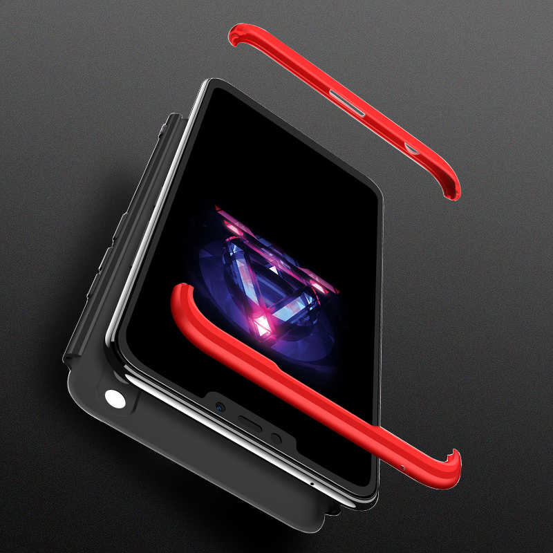 For Nokia 8.1 Case Nokia 8.1 360 Degree Full Body Cover Case For Nokia 8.1 Nokia8.1 TA-1119 TA-1128 Case With Tempered Glass