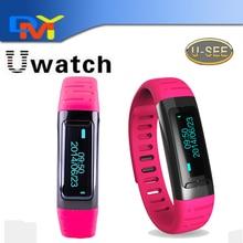 Wasserdichte Bluetooth Smart Wristbands U9 USee U-uhr-handgelenk Smartwatch Pedometer Wifi Hotspots Für iPhone Android anti-verlorene