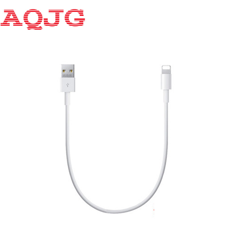 20cm Portable power charging cable SHORT Data 8 pin Charger Original USB Cable for iPhone 5 S C iOS 8 for iPhone 6 ipad mini air