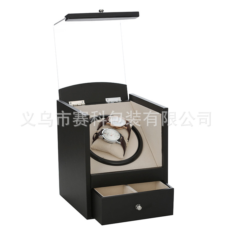 PU leather automatic chain shake meter box electric watch box motor box electric shake meter box beverley box beverley box be064ameym64