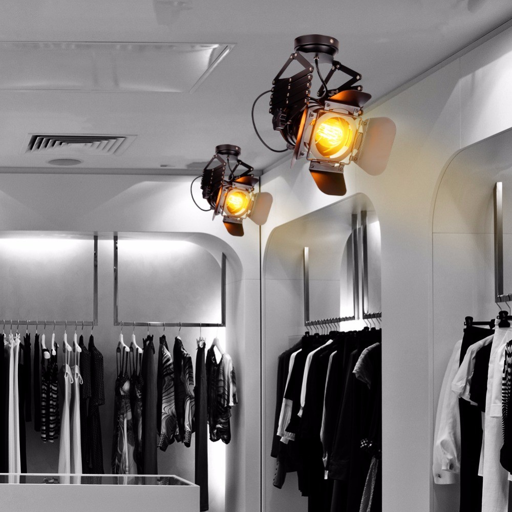 Loft RH 30W LED Track Light Expansion Bracket Design AC 220V Integration Lights Lamp For Store Shopping Mall Lighting led track light50wled exhibition hall cob track light to shoot the light clothing store to shoot the light window