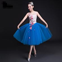 2018 new traditional chinese dance costumes women sleeve folk dance costume national costume for woman fan hanfu clothing