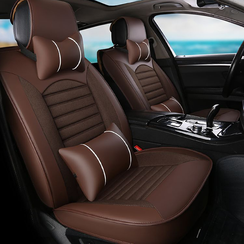 Flax car seat cover for audi a3 8p a1 a3 a4 a4l a5 a6 a6l a7 a8 8p 8v a4 b6 b7 b8 a6 c5 c6 c7 q5 q7 tt auto accessories амортизаторы vauglin a4 a4l a6 a6l q5 q7 tt 100 200