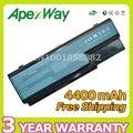 Apexway 6 células de bateria para acer aspire 5739g 5220g 6930g 5920g 5930g 5739g 5910g 6920g 5739 5220 5920 5715z 5720 5720g 5720z