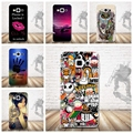 Cartoon Painted Soft TPU Phone Case for Samsung Galaxy A3 (2015) sm-A300f A300 A3000 Cases Silicon Cover Skin for Samsung A3 Bag