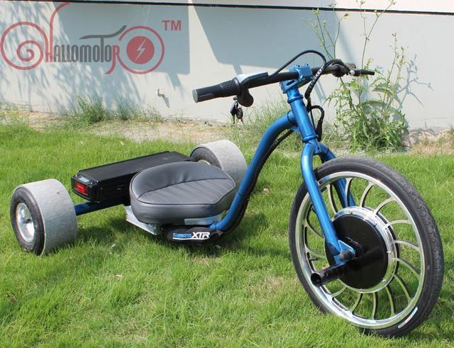 2015 48V 1000W Electric Drifting Trike with 15.4 AH Li ion Battery ...