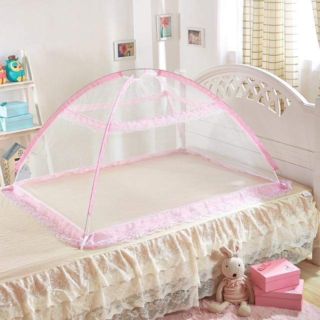 Upgrade baby klamboe hemelbed gordijnen kinderwagen bed dak anti ...