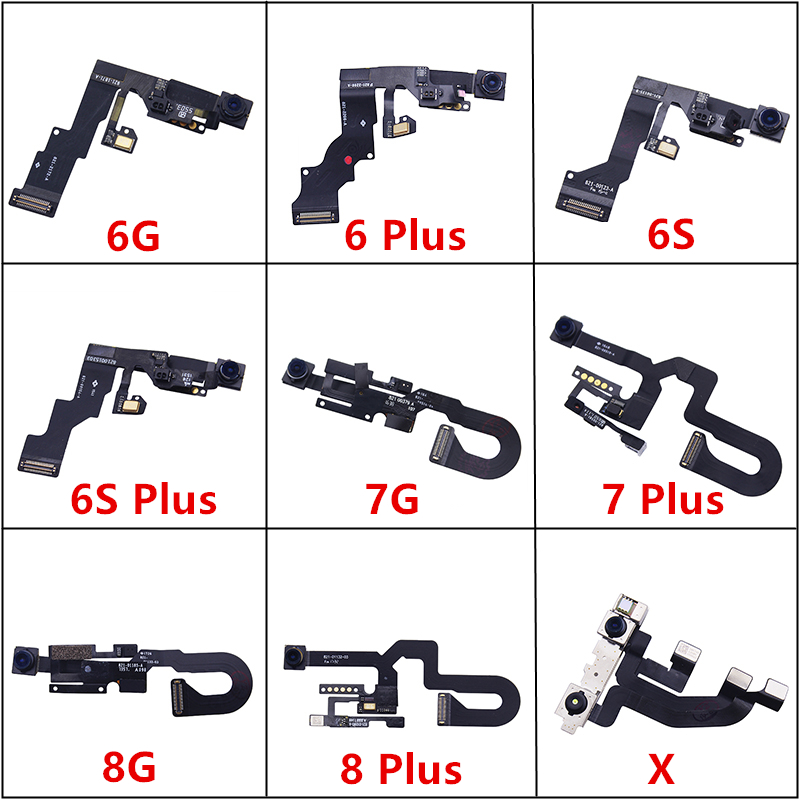 1Pcs AAA Quality For IPhone 6 6 Plus 6S 6S Plus 7 7 Plus 8 8 Plus Front Facing Camera Lens Right Proximity Sensor Flex Cable