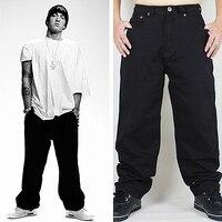 Hip Hop Baggy Jeans 2018 New Arrivals Loose Fit Wide Leg Denim Pants Skateboarder Streetwear Free Shipping