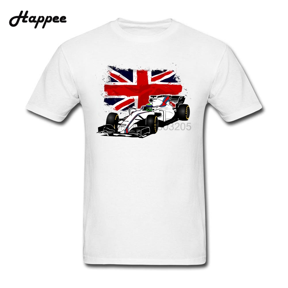 Design t shirt cheap uk - F1 Uk Flag T Shirt Man Tee Xs Xxxl Top Designer 100 Cotton