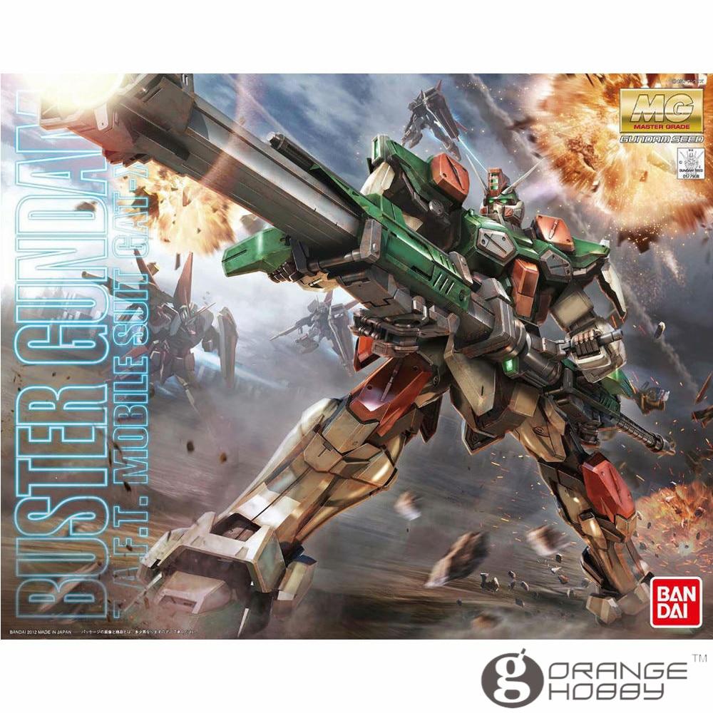OHS Bandai MG 160 1/100 GAT-X103 Buster Gundam Mobile Suit Assembly Model Kits ohs bandai mg 185 1 100 ppgn 001 gundam exia dark matter mobile suit assembly model kits