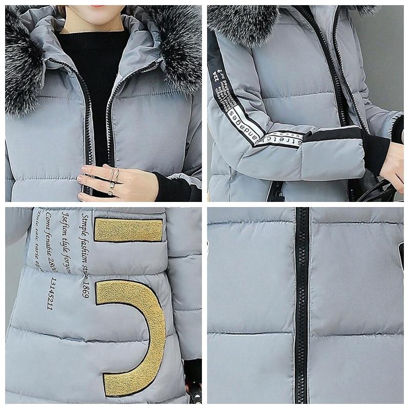 Зимняя куртка с капюшоном женские меховой воротник теплый мягкий Топ манто Femme верхняя одежда куртки пальто Зимние куртки feminino SY586