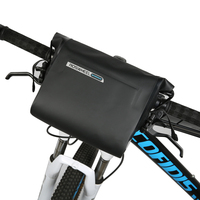 ROSWHEEL 3L Bicycle Front Storage Bags MTB Cycling Baskets Packing Pannier Bike Accessories Handlebar Bag