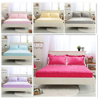 Thicken Crystal Velvet Cotton Mattress Covers High Quality Colored Warm Mattress Cover Many Colors Available Bedding