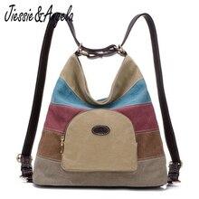 Jiessie & Angela новые женские парусиновые рюкзаки дорожная сумка леди школьная сумка Mochila милые сумки дизайнерский бренд Женская сумка
