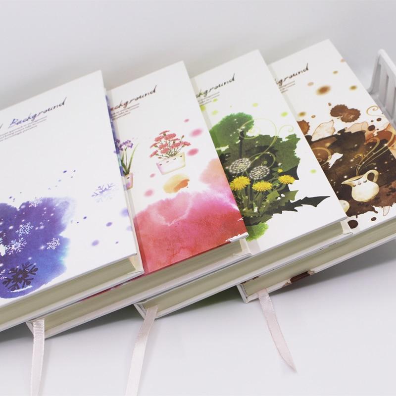 Coloffice 1pc Korea Retro Notebboks Coffee Tree Hard Cover Notebook Diary Weekly Plan Organizer Diary Kawaii A5 Agenda Planmemo