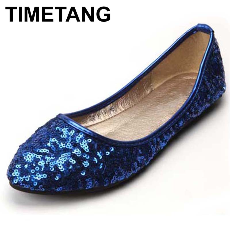 TIMETANG Celebrity Style Classic Womens Gliiter Sequined Flats Ladies Ballerina Flat Shoes BEYARNE New Free Shipping C332TIMETANG Celebrity Style Classic Womens Gliiter Sequined Flats Ladies Ballerina Flat Shoes BEYARNE New Free Shipping C332