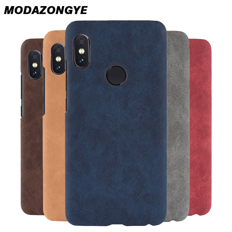 9eca1bea3fc For Xiaomi Redmi Y2 Case Redmi Y2 Case 5.99 Hard Back Cover PU Leather  Phone Case For Xiomi Xiaomi Redmi Y2 Y 2 RedmiY2 Case-in Fitted Cases from  Cellphones ...