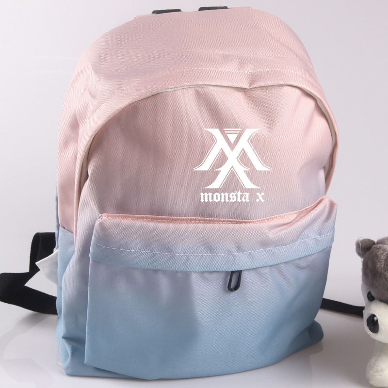 Independent Wishot Kpop Infinite Backpack Flowers Shoulder Travel Bag For Teenagers Girls Women Canvas Dot School Bag Luggage & Bags School Bags
