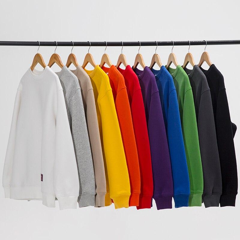 Couleur Lâche blue Polaire orange yellow Hiver green Hip 11 Hop De gray red Mâle Sweat Black 2018 Épaississent khaki purple blue Base white Gray Sweatshirts Nouveau Stubnation vnH5aW0qq