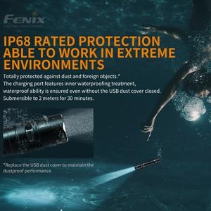 Image 4 - 새로운 Fenix PD36R 1600 루멘 전술 손전등 5000mah 리튬 이온 배터리 팩으로 초소형 검색 손전등
