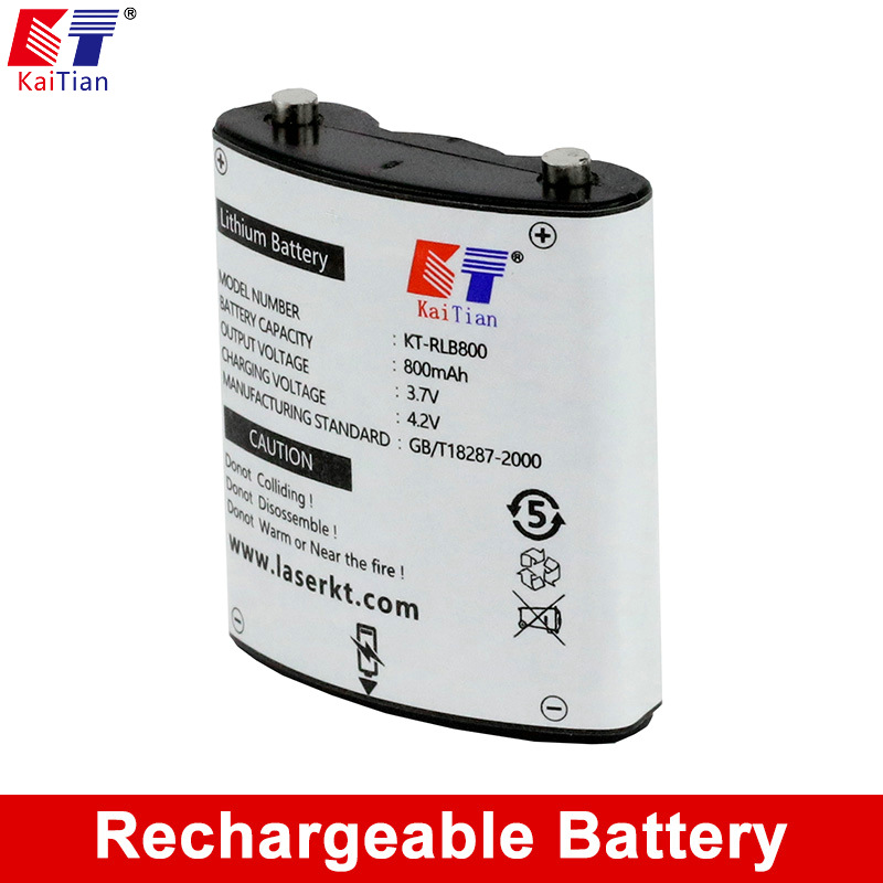 Kaitian Lithium-Batterie für Nivel Laser 5 Linien 8 Linien 12 Linien Laser Level Wiederaufladbare 3,7 v 800 mah mit netzteil Verdrahtung