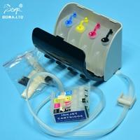 BOMA. LTD T1281 Ciss Continuous Ink System Für Epson Stylus SX235/SX230W/SX125/SX130/S22/BX305F drucker Mit Auto Reset Chip Fortlaufendes Tinten-Versorgungssystem    -