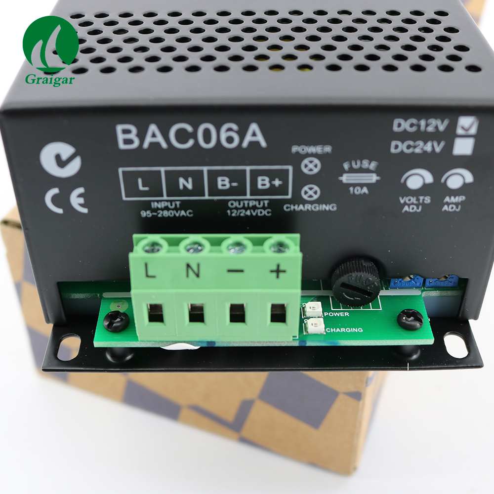 цена на High Quality Smartgen Battery Charger BAC06A-12V&24V