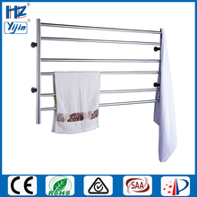 Wide size stainless steel bathroom accessory electric towel heater wall mounted warmer heated rail radiator HZ-929