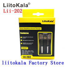 Liitokala Lii-202 18650 cargador 1.2 V 3.7 V 3.2 V 3.85 V AA/AAA 26650 10440 14500 16340 25500 NiMH battery de litio inteligente men sneakers casual sports shoes running mesh flats breathable adult trainer basket men s summer sneakers кроссовки