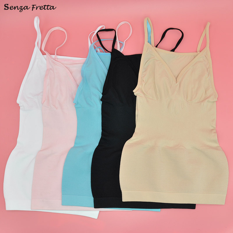 b4d098ecea5 HomeShapersControl SlipsWomen Bra Cami Tank Top Body Shaper Removable  Shaper Corrective Underwear Slimming Vest Corset Slim Shapewear. 🔍. 1  2