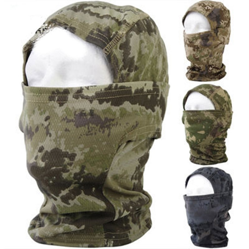 Reasonable Men Boy Cozy Full Face Mask Tactical Outdoor Airsoft Ski Quick-drying Hood Balaclava Hide Full Face Mask 5 Colors Outdoor Back To Search Resultshome