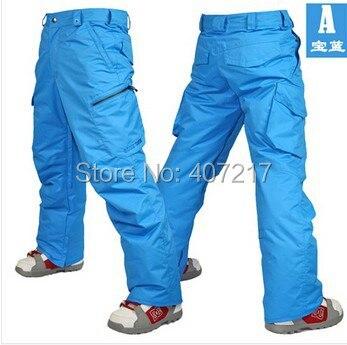 2016 mens blue ski pants coffee snowboarding pants for men green sports snow pants black waterproof 10K windproof free ship