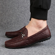 Rommedal Summer lazy loafers slip-on genuine sheep leather moccasins men casual shoes solid wine red black color drive