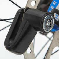 Security Protect Anti-theft Bicycle Disc Lock Brake Wheel Rotor Lock For Scooter Bike Bicycle Alarm Locks