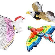 Новинка флэш-Моделирование Электрический Летающий орел птица вращающиеся интерактивные игрушки для детей