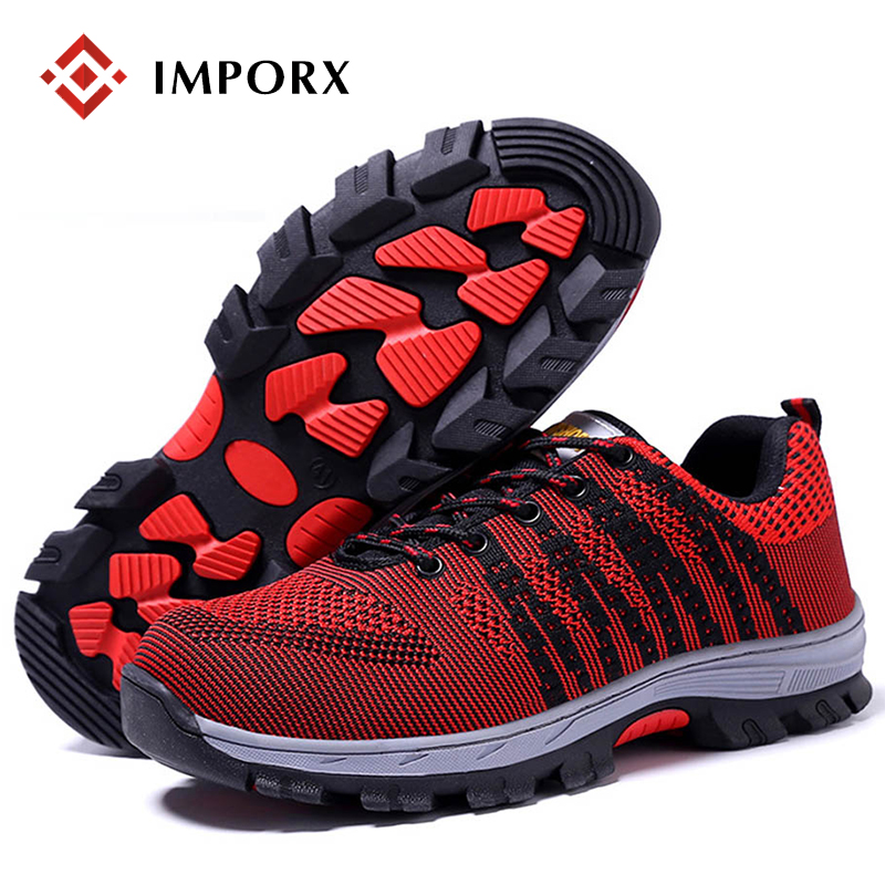 Summer Men Safety Work Shoes Steel Toe Cap Mesh Breathable Anti-puncture Tooling Low Boots Protect Footwear Boots Safety Shoes halinfer men s safety shoes with steel toe cap air mesh round toe breathable casual fashion outdoor men safety boots